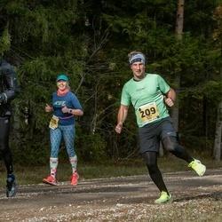 46. Saaremaa kolme päeva jooks - Andre Anis (209), Robert Sinikas (313)