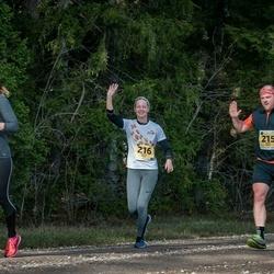 46. Saaremaa kolme päeva jooks - Aadu Polli (215), Katrin Polli (216), Eeva Lahtinen (547)