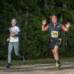 46. Saaremaa kolme päeva jooks - Aadu Polli (215), Katrin Polli (216)