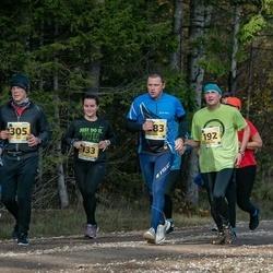 46. Saaremaa kolme päeva jooks - Rivo Subi (92), Anni Adamson (133), Janis Riekstins (192), Villu Sarik (283), Riho Õun (305)