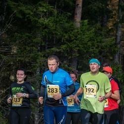 46. Saaremaa kolme päeva jooks - Anni Adamson (133), Janis Riekstins (192), Villu Sarik (283)