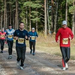 46. Saaremaa kolme päeva jooks - Marek Ross (218), Tanel Saue (278), Arnold Tihane (528), Villu Kask (720)