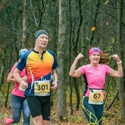 46. Saaremaa kolme päeva jooks - Ave Toomingas (67), Arnis Sulmeisters (301)
