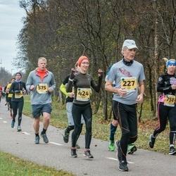 46. Saaremaa kolme päeva jooks - Ülo Urb (227), Agnese Gaile (424), Indrek Traks (575), Mari Hubel (758)