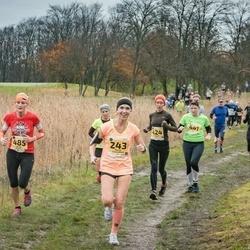 46. Saaremaa kolme päeva jooks - Olesja Smorodina (243), Agnese Gaile (424), Renee Järvalt (485)