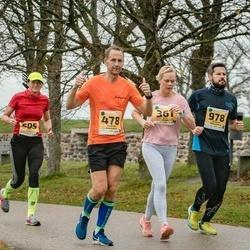 46. Saaremaa kolme päeva jooks - Auri Viitak (361), Andres Veenpere (478), Maili Antons (505), Artjom Vakulenko (978)
