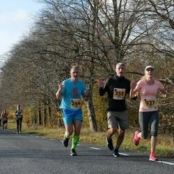 46. Saaremaa kolme päeva jooks - Hannes Oks (244), Argo Roolaht (355), Liselle Luks (937)