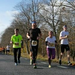 46. Saaremaa kolme päeva jooks - Dagmar Vlassov (127), Jüri Vlassov (414), Indrek Võeras (939)