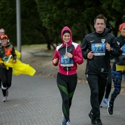 Pärnu Rannajooks - Anita Hohlov (558), Markus Eller (744)