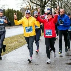 Pärnu Rannajooks - Triin Saar (379), Ene Talu (381), Artur Janson (881)