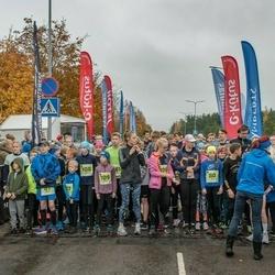 46. Saaremaa kolme päeva jooksu noortejooks - Liv Leivo (80), Adeele Neitsov (109)