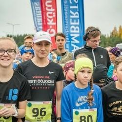 46. Saaremaa kolme päeva jooksu noortejooks - Liv Leivo (80), Lisett Alt (96)