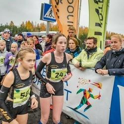 46. Saaremaa kolme päeva jooksu noortejooks - Elza Niklase (24), Stella Paltiņa (58)