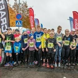 46. Saaremaa kolme päeva jooksu noortejooks - Liv Leivo (80), Karl Vilson (81), Õnnely Rahu (100), Adeele Neitsov (109)