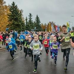 46. Saaremaa kolme päeva jooksu noortejooks - Liisa Karoliine Vaht (106), Karl-Robert Vaht (107), Mihkel Keso (139)