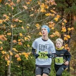 46. Saaremaa kolme päeva jooksu noortejooks - Oliver Grauen (5), Ranno Kannel (70)
