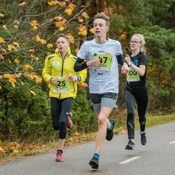 46. Saaremaa kolme päeva jooksu noortejooks - Henrik Johan Kitt (25), Janis Riekstins (47), Õnnely Rahu (100)