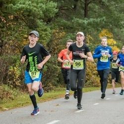 46. Saaremaa kolme päeva jooksu noortejooks - Karl Vilson (81), Lisett Alt (96)