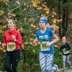 46. Saaremaa kolme päeva jooksu noortejooks - Annemari Laugal (56), Liisa Tõll (165)