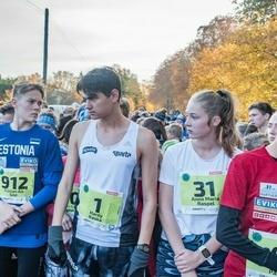 46. Saaremaa kolme päeva jooksu noortejooks - Hardy Kaska (1), Anna Maria Raspel (31), Tristan Aik Sild (912)