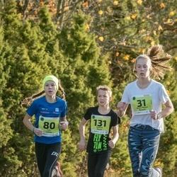 46. Saaremaa kolme päeva jooksu noortejooks - Anna Maria Raspel (31), Liv Leivo (80), Kaarel Ruus (131)