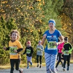 46. Saaremaa kolme päeva jooksu noortejooks - Annemari Laugal (56), Art Aleksander Tatter (66)