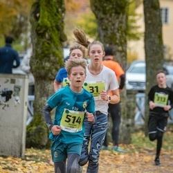 46. Saaremaa kolme päeva jooksu noortejooks - Anna Maria Raspel (31), Gustav Vilk (514)