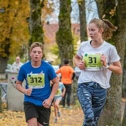 46. Saaremaa kolme päeva jooksu noortejooks - Anna Maria Raspel (31), Kauri Bõstrov (312)