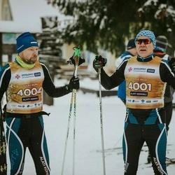 22. Tallinna Suusamaraton - Arvo Raja (4001), Sulev Muru (4004)