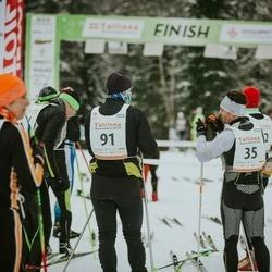 22. Tallinna Suusamaraton - Raul Köster (35), Tarvo Kapp (91)
