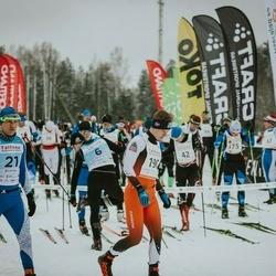 22. Tallinna Suusamaraton - Andres Kollo (6), Gert Jõeäär (10), Kaido Pesor (21), Rimo Timm (190)