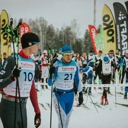 22. Tallinna Suusamaraton - Gert Jõeäär (10), Kaido Pesor (21)