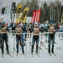22. Tallinna Suusamaraton - Arvo Raja (4001), Indrek Pak (4002), Kaarel Toss (4003), Sulev Muru (4004)