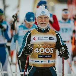 22. Tallinna Suusamaraton - Kaarel Toss (4003)