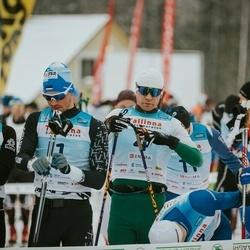 22. Tallinna Suusamaraton - Raido Ränkel (1), Andres Juursalu (4), Andres Kollo (6)