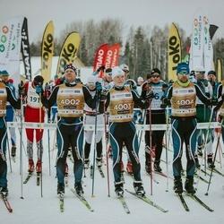 22. Tallinna Suusamaraton - Arvo Raja (4001), Indrek Pak (4002), Kaarel Toss (4003), Sulev Muru (4004), Ulvar Pavlov (4005)