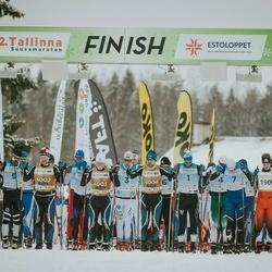 22. Tallinna Suusamaraton - Raido Ränkel (1), Martin Nassar (3), Bert Tippi (7), Cristian Anton (9), Arvo Raja (4001), Indrek Pak (4002), Kaarel Toss (4003), Sulev Muru (4004), Ulvar Pavlov (4005)