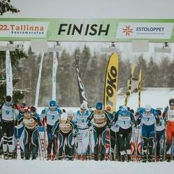 22. Tallinna Suusamaraton - Raido Ränkel (1), Taavi Lehemaa (2), Martin Nassar (3), Bert Tippi (7), Cristian Anton (9), Gert Jõeäär (10), Rimo Timm (190), Arvo Raja (4001), Indrek Pak (4002), Kaarel Toss (4003), Sulev Muru (4004)