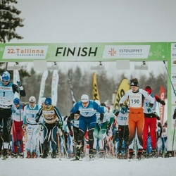 22. Tallinna Suusamaraton - Raido Ränkel (1), Martin Nassar (3), Bert Tippi (7), Rimo Timm (190), Indrek Pak (4002), Kaarel Toss (4003), Sulev Muru (4004)