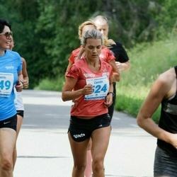 39. jooks ümber Pühajärve - Katrin Laikre (449), Carolin Järv (524), Anni Kübarsepp (579)