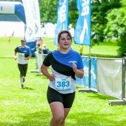 39. jooks ümber Pühajärve - Anna Remmelgas (383)