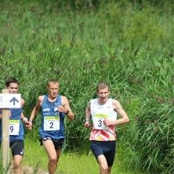 91. Suurjooks ümber Viljandi järve - Roman Fosti (2), Ilja Nikolajev (3)