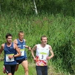 91. Suurjooks ümber Viljandi järve - Roman Fosti (2), Ilja Nikolajev (3), Karel Hussar (9)
