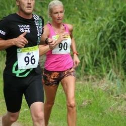 91. Suurjooks ümber Viljandi järve - Anneli Vaher (90), Märt Kivila (96)