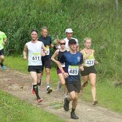 91. Suurjooks ümber Viljandi järve - Anet Adamson (423), Andreas Martin Reili (485), Martin Maide (611)