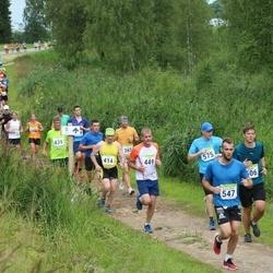 91. Suurjooks ümber Viljandi järve - Aivar Ots (365), Einar Hillep (414), Vello Tilk (439), Anti Mihkelson (449), Sander Vahtramäe (506), Aaron Oliver Aaviste (547), Mihhail Korasteljov (575)