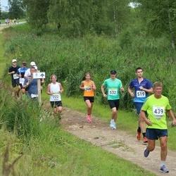 91. Suurjooks ümber Viljandi järve - Triinu Haavapuu (366), Vello Tilk (439), Jüri Laanmets (519), Andrei Lambinen (532), Triinu Kannel (722)