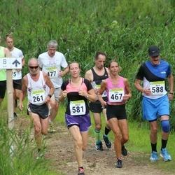 91. Suurjooks ümber Viljandi järve - Ants Kuusik (261), Silja Scheer (467), Gunnar Koitne (477), Merit Varblane (581), Aare Randma (588)