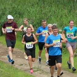 91. Suurjooks ümber Viljandi järve - Heigo Reima (402), Katrin Kahu (429), Silja Põder (562), Guido Pääsuke (592)