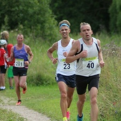 91. Suurjooks ümber Viljandi järve - Kristjan Vares (23), Alar Kaar (40)